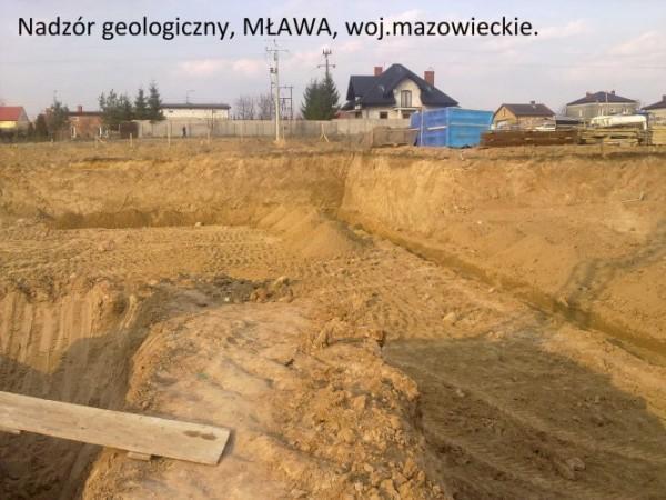 nadzór geologiczny mława